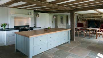 Oak Beamed Kitchen