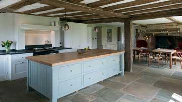 Oak Beamed Kitchen