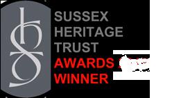 Sussex Heritage Award Winners Badge